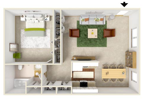 4500 Dewey Avenue floor plans